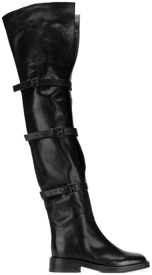 Ann Demeulemeester Tucson over the knee boots