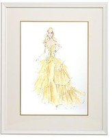The Well Appointed House Barbie Couture Series Framed Girls Wall Art: 50th Anniversary