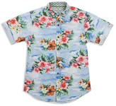Sovereign Code Boys' Tropical Short Sleeve Button Down - Sizes 4-7