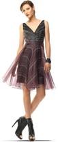 Max Studio Printed Organza Dress