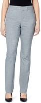 Gloria Vanderbilt Women's Haven Microtech Straight-Leg Dress Pants