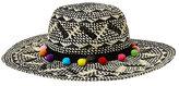 Betsey Johnson Festive Floppy Hat