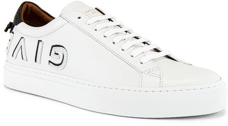 Givenchy Urban Street Sneaker in White & Black   FWRD
