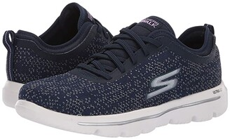 Skechers Performance Performance Go Walk Evolution Ultra - 15736 (Navy/White) Women's Shoes