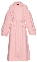 Simone Rocha Oversized sparkle wool-blend coat