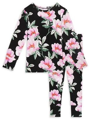 Posh Peanut Baby's, Little Girl's & Girl's Tenni 2-Piece Long Sleeve Basic Pajama Set