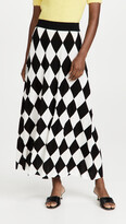 Thumbnail for your product : Rixo Brandy Knit Midi Skirt