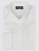 Limited Edition Pure Cotton Tailored Fit Textured Shirt