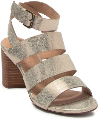 Seychelles Antiques Metallic Leather Sandal