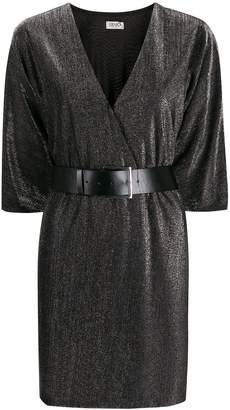 Liu Jo wrap V-neck dress