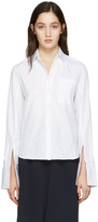 ATEA OCEANIE White Wide Cuff Shirt
