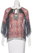 Ulla Johnson Silk Printed Blouse