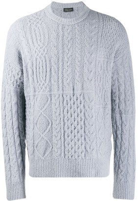 Roberto Collina cable knit sweatshirt