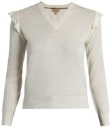 Burberry Ardle V-neck cashmere sweater