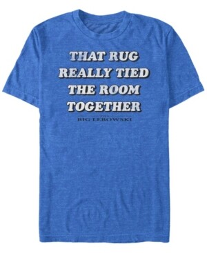 The Big Lebowski Men's Rug Really Tied The Room Together Short Sleeve T-Shirt