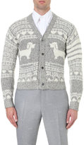 Thom Browne Short Hector Knitted Cardigan