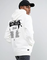 10 Deep Hoodie With Tour Back Print