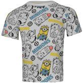 Character Kids Me AOP T Shirt Infants Boys Short Sleeve Round Neck Tee Top