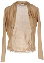 Gold Case Wrap cardigans