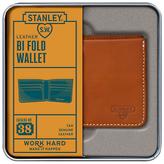 Stanley Bi Fold Leather Wallet, Tan