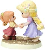 Precious Moments Precious Moments, Disney Showcase Collection, We Go Hand-In-Hand Bisque Porcelain Figurine, 154012