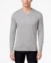 Barbour Men's V-Neck Pima Cotton Sweater
