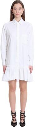 RED Valentino Dress In White Cotton