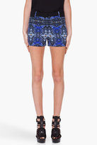 Electric Blue Lake Shorts