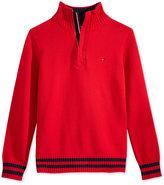 Tommy Hilfiger Robert Half-Zip Sweater, Big Boys (8-20)