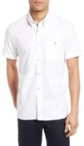 Ted Baker Men's Rexx Textured Check Sport Shirt