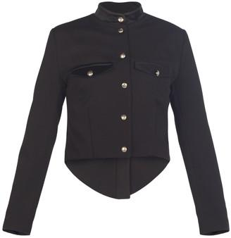 Muza Military Style Black Jacket