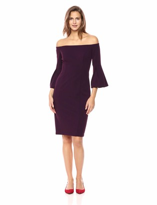 Vince Camuto Women's Crepe Bodycon Off-The-Shoulder Dress
