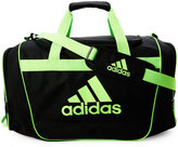 adidas Black & Green Navy & Blue Defender II Medium Duffel