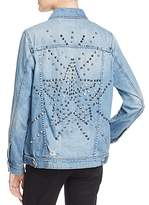 Blank NYC Blanknyc Oversized & Embellished Denim Jacket - 100% Exclusive