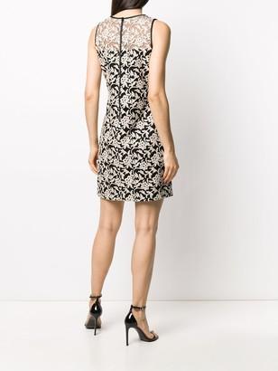 Lauren Ralph Lauren Floral Embroidery Dress
