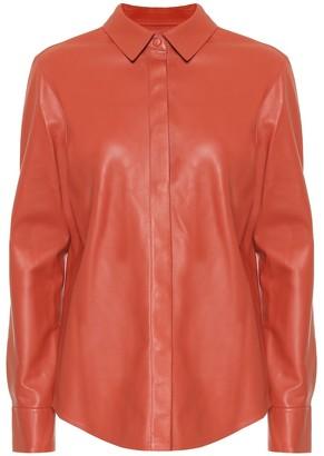 ZEYNEP ARCAY Leather shirt