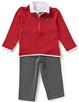 Starting Out Baby Boys 3-24 Months Long-Sleeve Knit Top and Pants Set