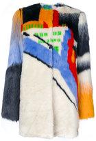 Marco De Vincenzo oversized coat - women - Acrylic/Polyester/Viscose - 38