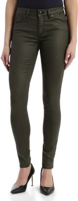 Mavi Jeans Tess Khaki Faux Leather Pants