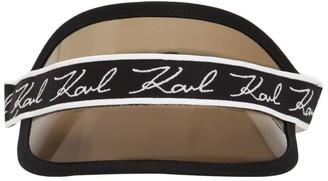 Karl Lagerfeld Paris Pvc Visor