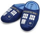 Doctor Who Tardis Mens Slippers | XL