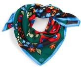 Tory Burch Women's Darling Floral Silk Neckerchief