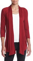 Amy Byer Women's Slub Cozy Cardigan Sweater