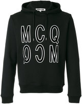 McQ by Alexander McQueen print hoodie - men - Cotton - XS