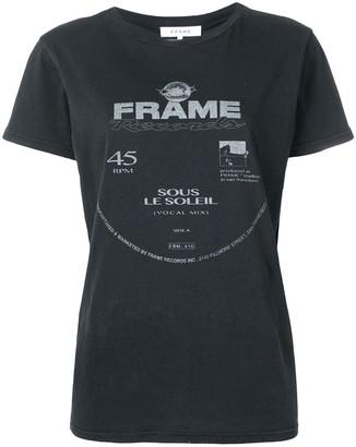 Frame logo print T-shirt