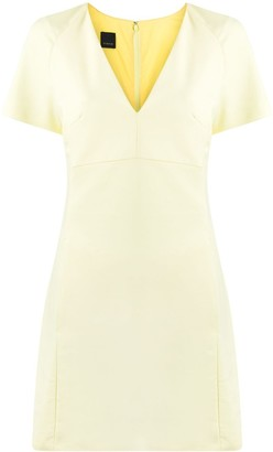 Pinko v-neck shift dress