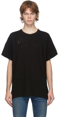 Amiri Black Shotgun T-Shirt
