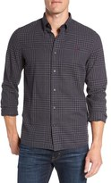 Fred Perry Men's 'Distorted' Trim Fit Gingham Woven Shirt
