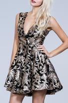 Ark & Co Sequin Flare Dress