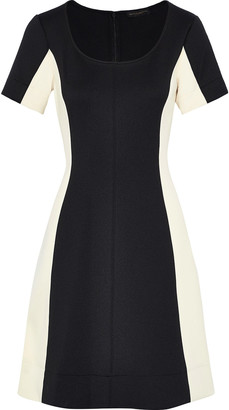 Donna Karan Two-tone Ponte Dress